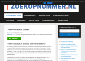 zoekopnummer.nl