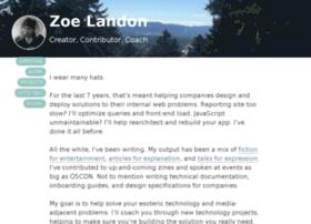 zoelandon.com