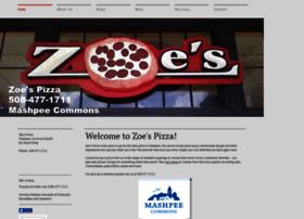 zoespizza.com