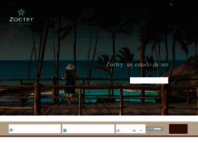 zoetryresorts.com.mx