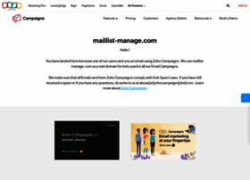 zoho.maillist-manage.com