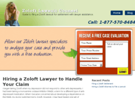 zoloftlawsuitcounsel.com