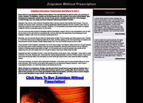 zolpidemwithoutprescription.com