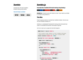 zombie.labnotes.org