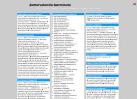 zomervakantie-lastminute.jouwpagina.nl