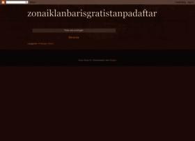 zonaiklanbarisgratistanpadaftar.blogspot.com