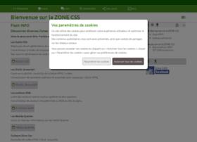 zonecss.fr