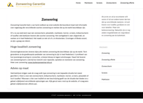 zonwering-garantie.nl