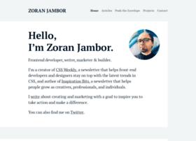 zoranjambor.com
