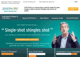 zostavax.com