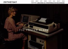zotheysay.com
