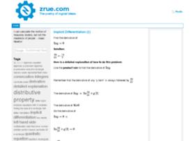zrue.com