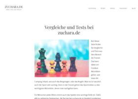 zuchara.de