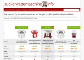 zuckerwattemaschine.info