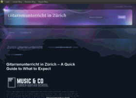 zuerichgitarrenunterricht.blog.com