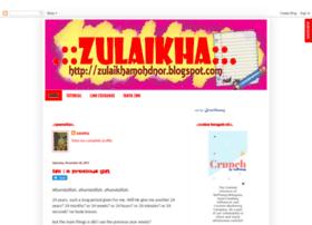 zulaikhamohdnor.blogspot.com