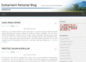 zulkarnaini.net